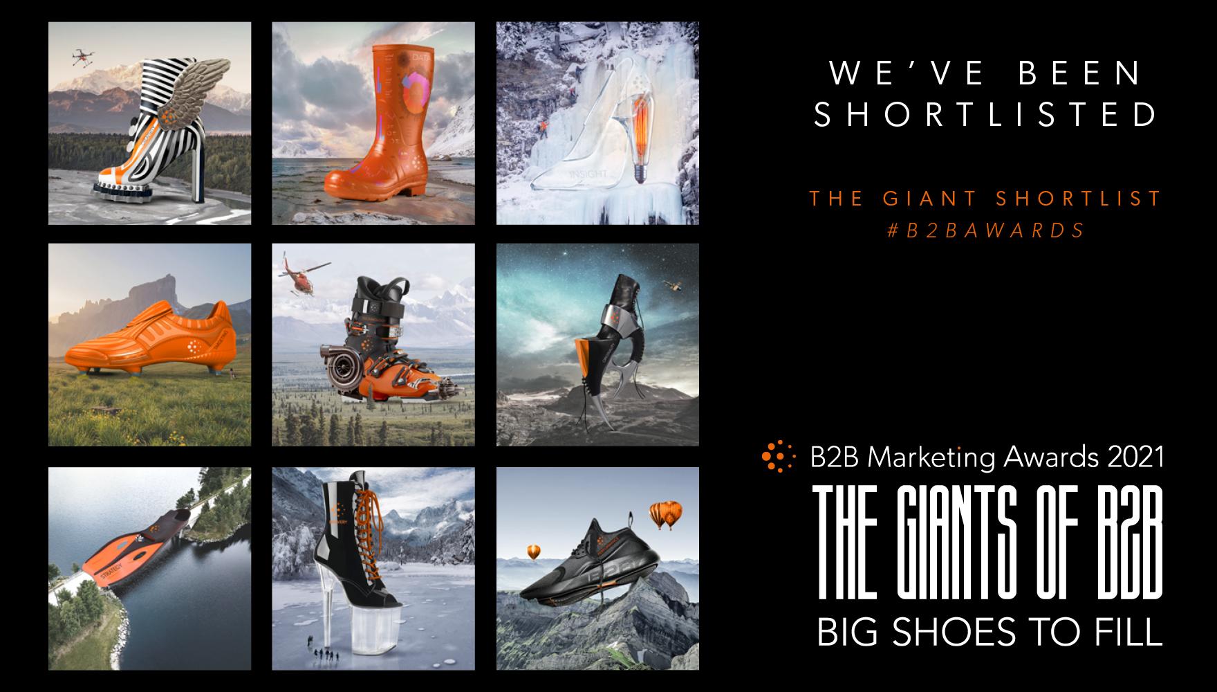 B2B Marketing Awards 2021 Shortlist