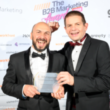 OneGTM take home gold at the B2B Awards