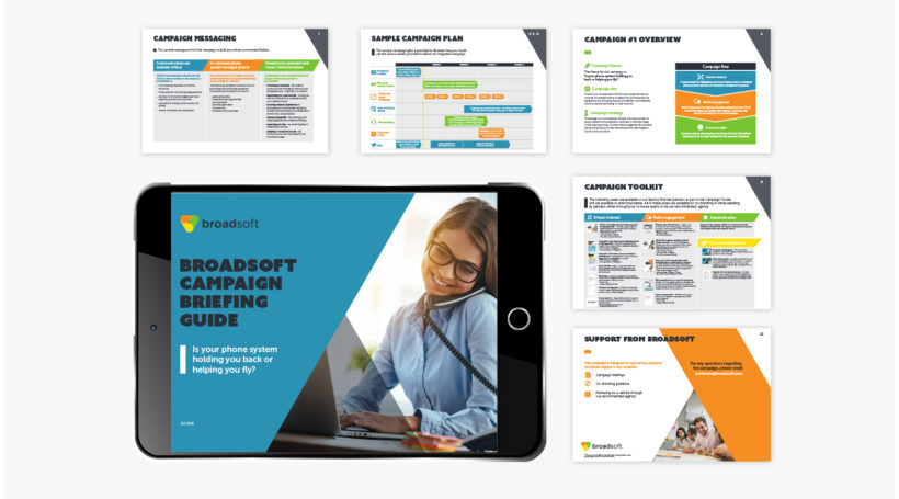 Delivering successful through-partner marketing campaigns for BroadSoft
