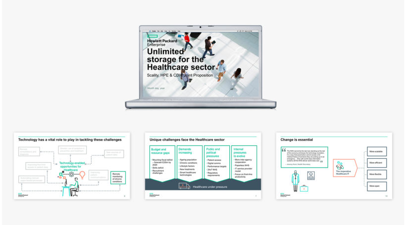 Building three-way vertical propositions for Hewlett Packard Enterprise & Scality