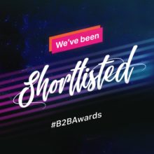 OneGTM shortlisted for B2B Awards 2019